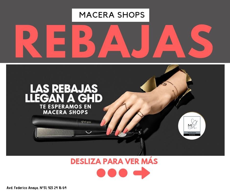 Las Rebajas de GHD en  Macera Shops